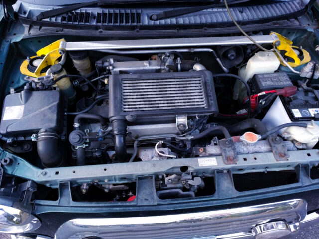 JB-DET TURBO ENGINE.