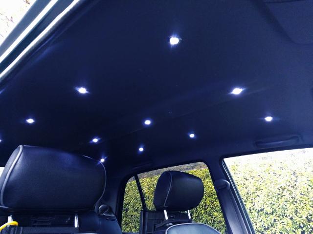 LED LIGHTING to INTERIOR ROOM.