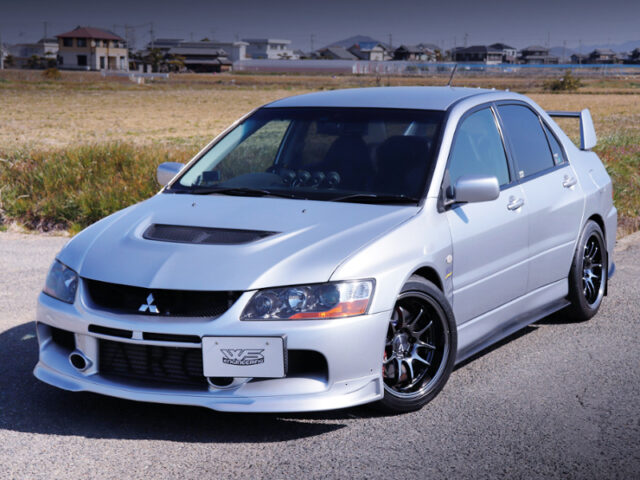 FRONT EXTERIOR OF CT9A EVO 9 GSR.