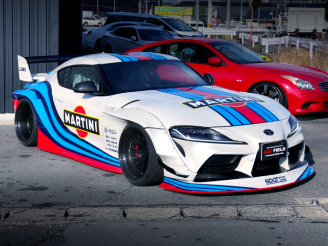 FRONT EXTERIOR DB42 GR SUPRA RZ to LB-WORKS WIDEBODY.