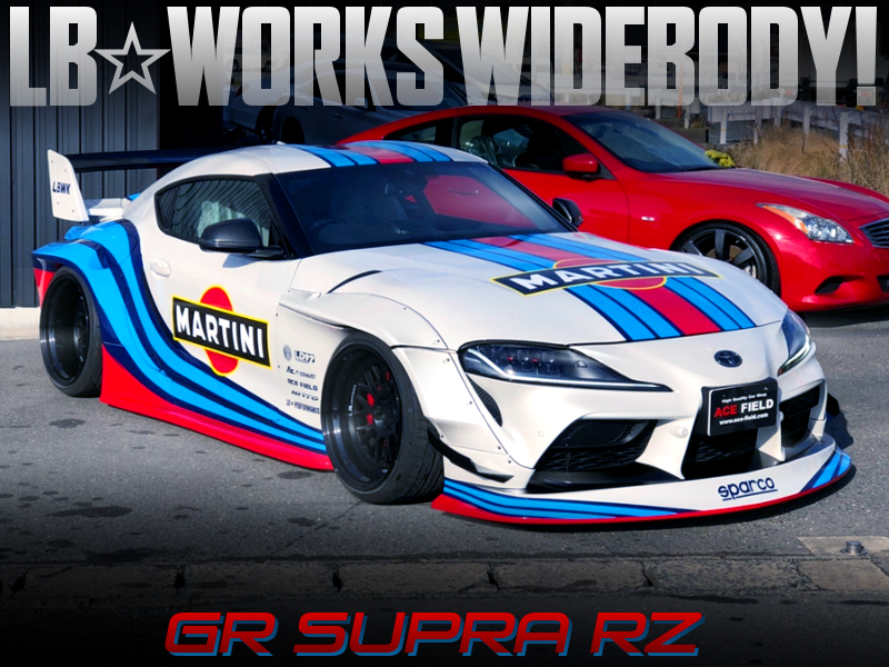 LB-WORKS and MARITNI of DB42 GR SUPRA RZ.