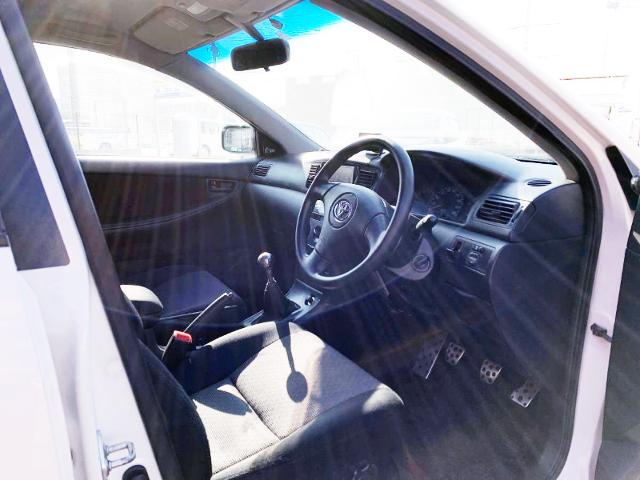 DRIVER'S INTERIOR OF NZE121G COROLLA FIELDER X.