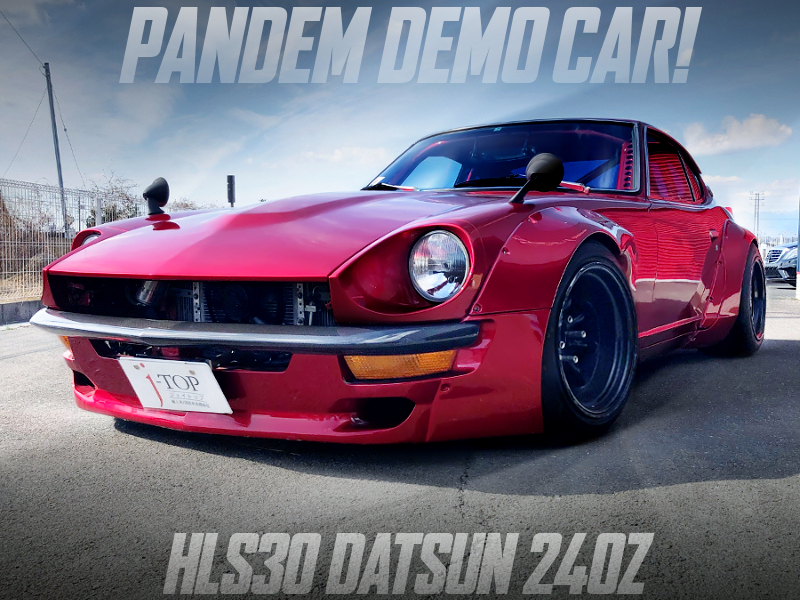 PANDEM DEMO CAR OF S30 DATSUN 240Z.