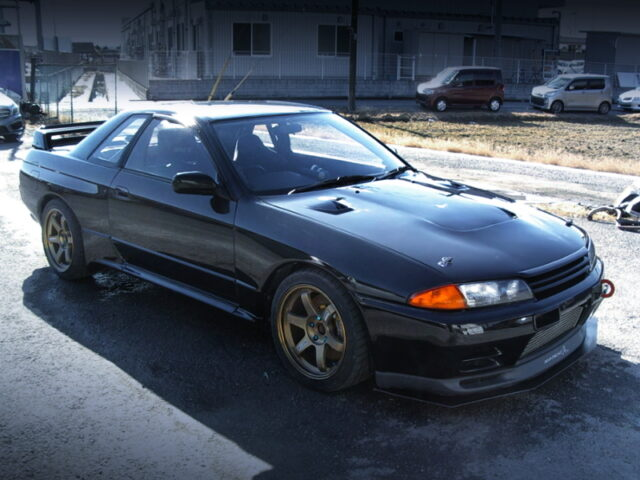 FRONT EXTERIOR OF R32 GT-R 500PS.