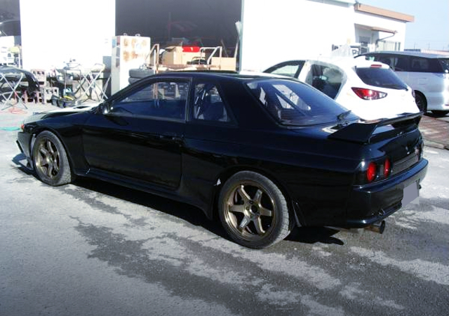 REAR EXTERIOR OF R32 GT-R 500PS.