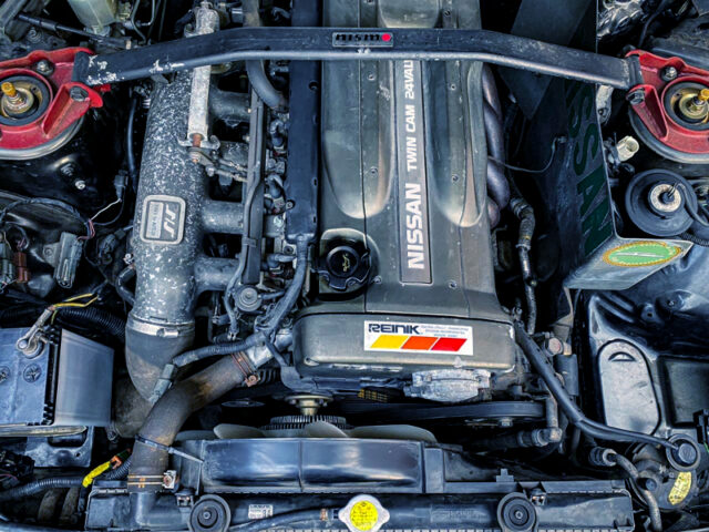 RB26DE 2600cc NATURALLY ASPIRATED ENGINE.