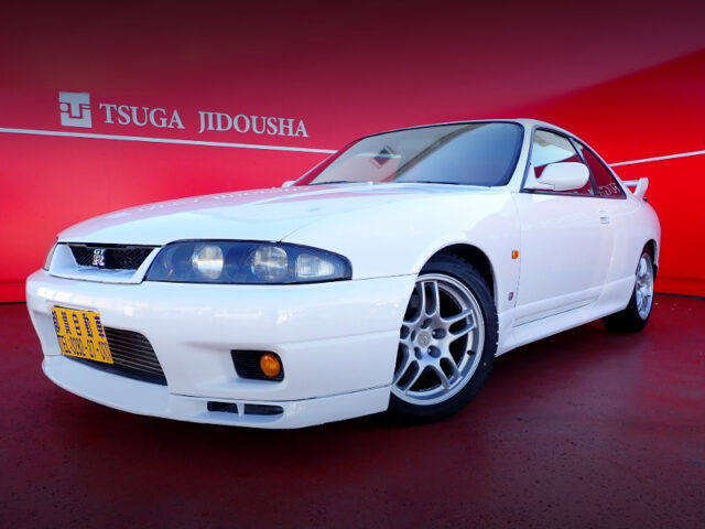 FRONT EXTERIOR OF R33 GT-R to WHITE.