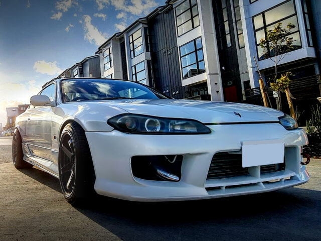 FRONT EXTERIOR OF S15 SILVIA.