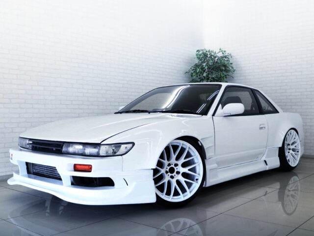 FRONT EXTERIOR OF S13 SILVIA WIDEBODY.
