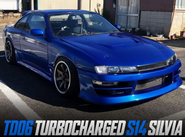 TD06 TURBOCHARGED S14 SILVIA WIDEBODY.
