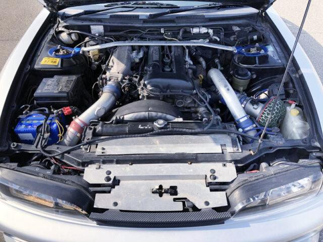 SR20DET BLACK TOP With HKS GT-RS TURBINE.