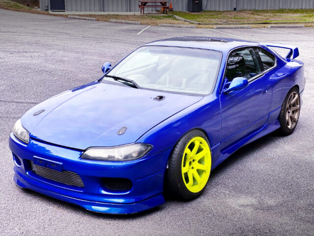FRONT EXTERIOR OF S14 240SX TO S15 CONVERSION.