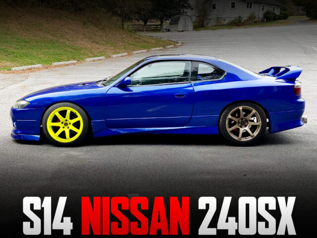 S14 NISSAN 240SX to S15 SILVIA CONVERSION.