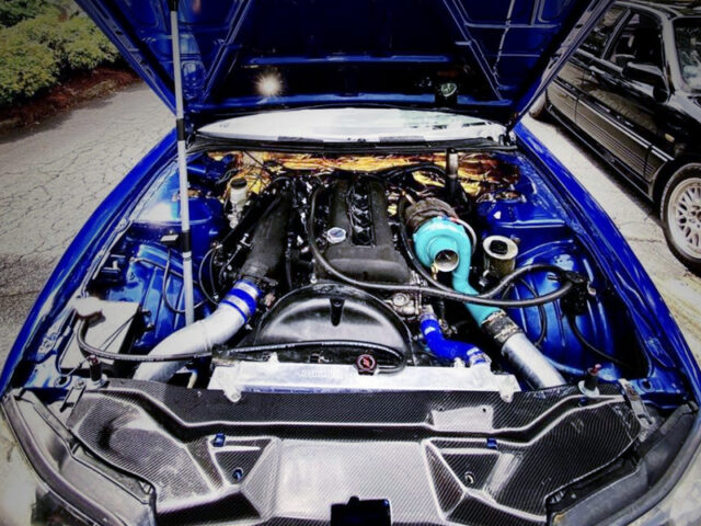 SR20DET TURBO ENGINE with GARRETT TURBO.