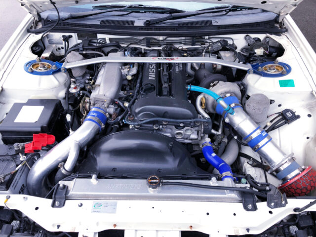 SR20DET with 2.2L and GT2-7460 TURBOCHARGER.