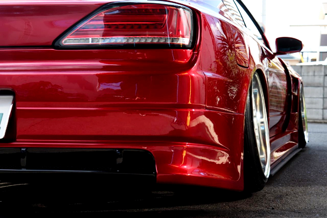 REAR FENDER and CAMBER.