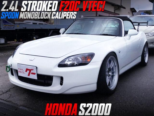 2.4L STROKED F20C into S2000.