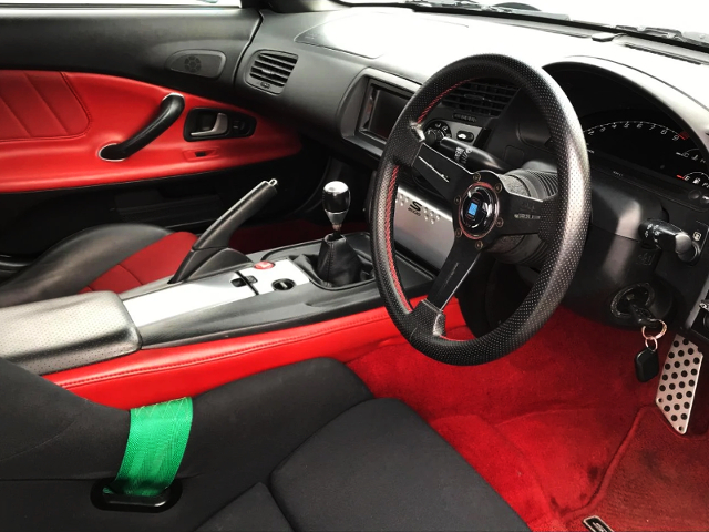 DASHBOARD OF S2000.