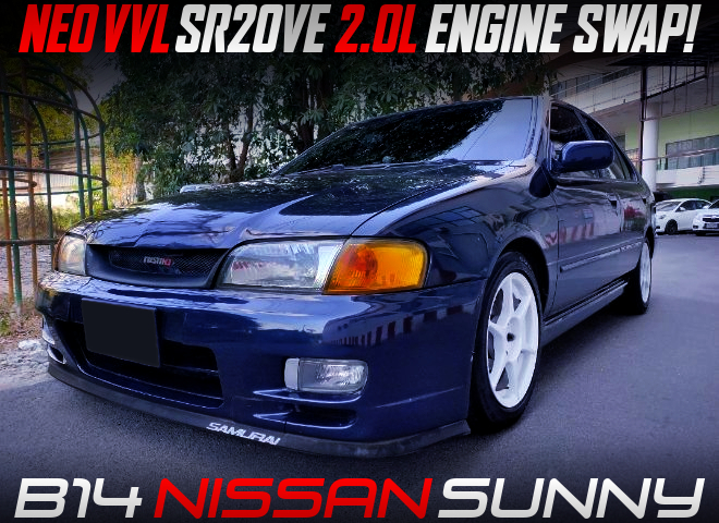 NEO VVL SR20VE NATURALLY ASPIRATED ENGINE SWAPPED B14 SUNNY 4-DOOR.