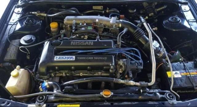 NEO VVL SR20VE NATURALLY ASPIRATED ENGINE.