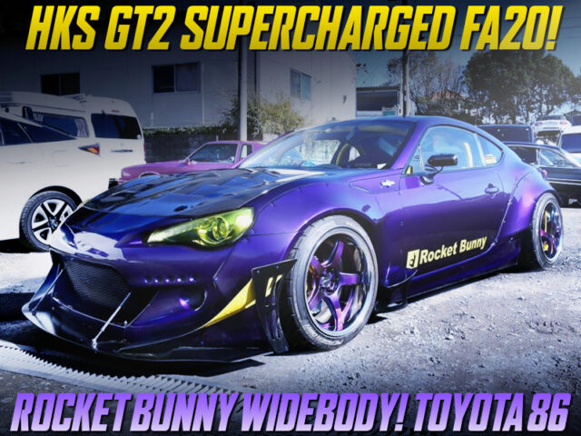 HKS SUPERCHARGED TOYOTA 86 WIDEBODY.