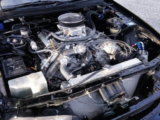 VH45 V8 ENGINE with CARBURETOR.