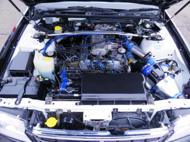 VQ30DET 3.0L V6 TURBO ENGINE.