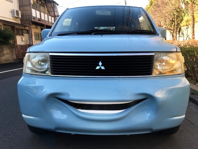 FRONT Smile BUMPER OF 1st Gen eK WAGON.