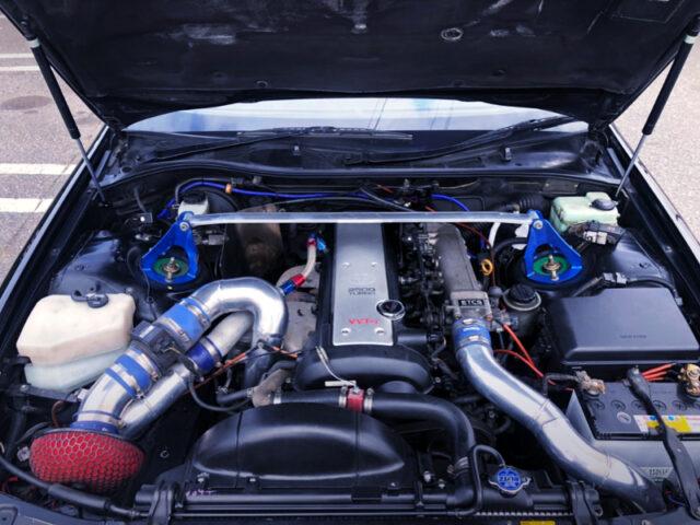 VVT-i 1JZ-GTE 2.5L TURBO ENGINE.