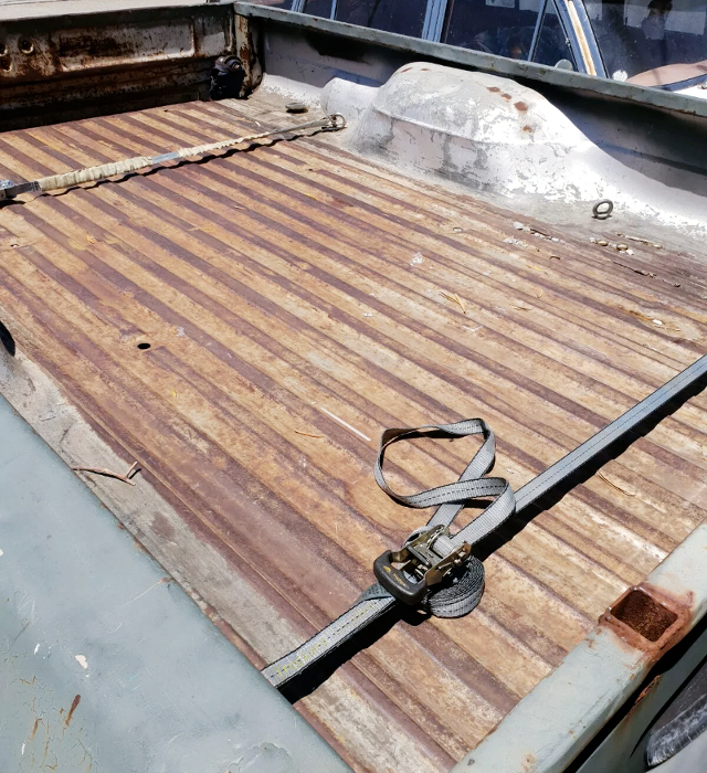BED FLOOR OF 6th Gen FORD F100.