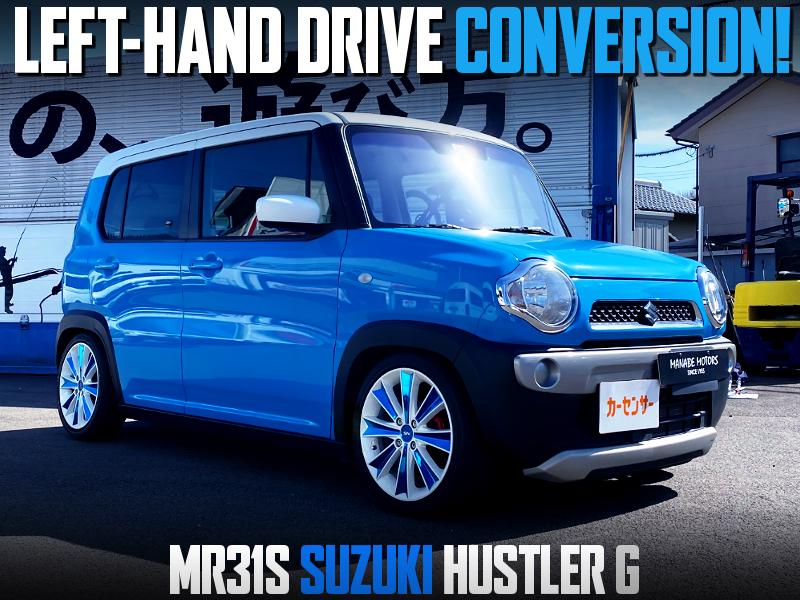LEFT HAND DRIVE CONVERSION to MR31S SUZUKI HUSTLER G.