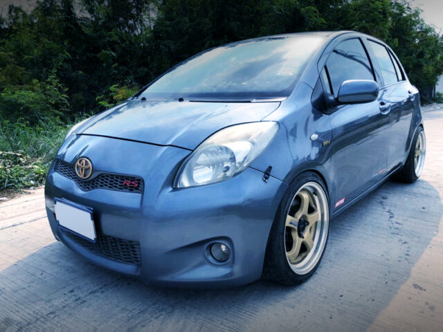 FRONT EXTERIOR OF NCP91 YARIS.