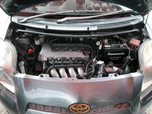 2ZZ-GE into YARIS ENGINE ROOM.