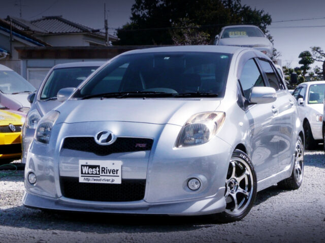 FRONT EXTERIOR OF 2nd Gen NCP91 VITZ RS.