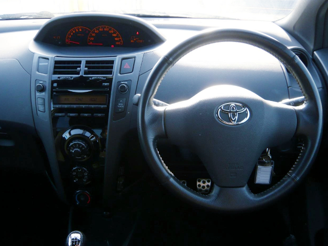 DASHBOARD OF 2nd Gen NCP91 VITZ RS.