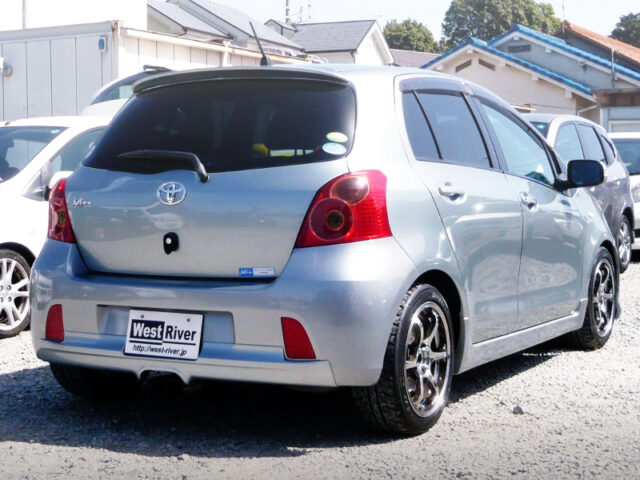 REAR EXTERIOR OF 2nd Gen NCP91 VITZ RS.