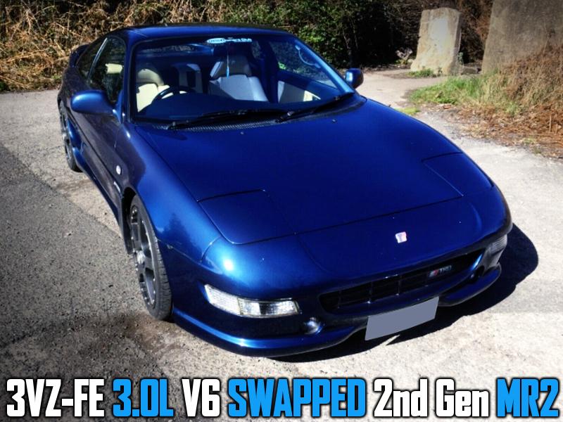 3VZ-FE 3.0L V6 ENGINE SWAPPED 2nd Gen MR2.