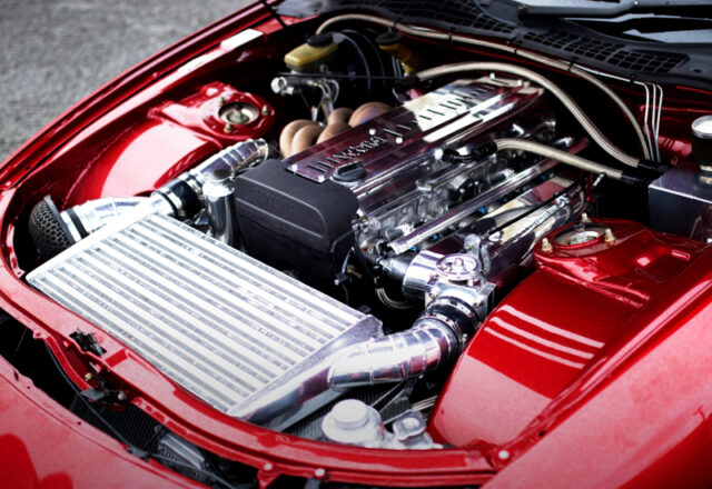 1.5JZ 3.0 ENGINE with TA3410 SINGLE TURBO.