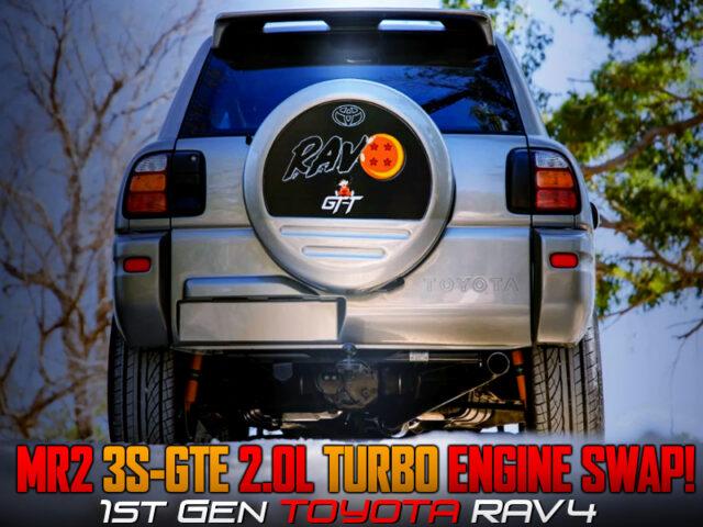 3S-GTE TURBO ENGINE SWAPPED 1st Gen RAV4.