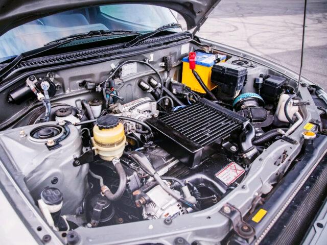 3S-GTE 2.0L TURBO ENGINE.
