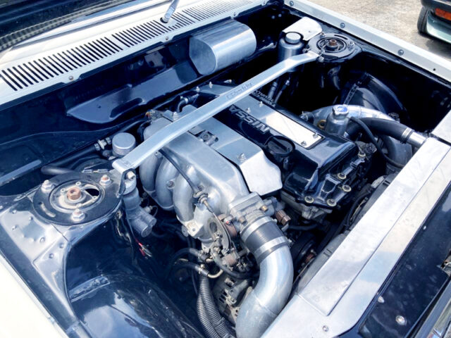 SR20DET BLACKTOP TURBO ENGINE.