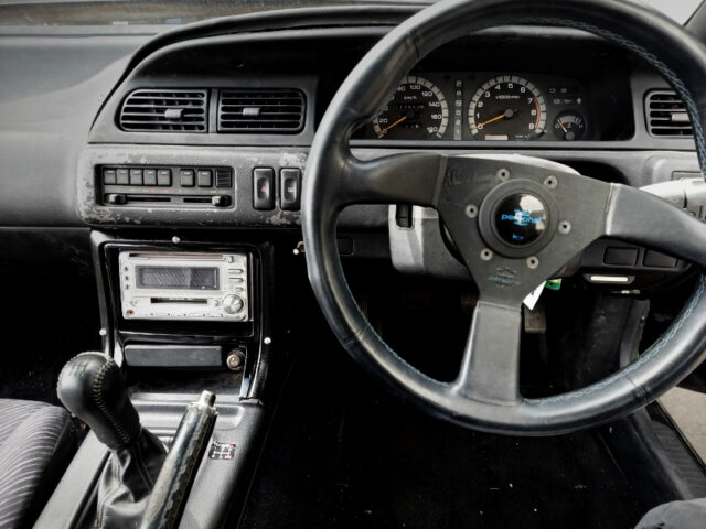 DRIVER'S DASHBOARD and 5-SPEED MANUAL SHIFT KNOB.