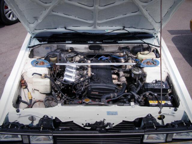 20V 4AGE ENGINE.