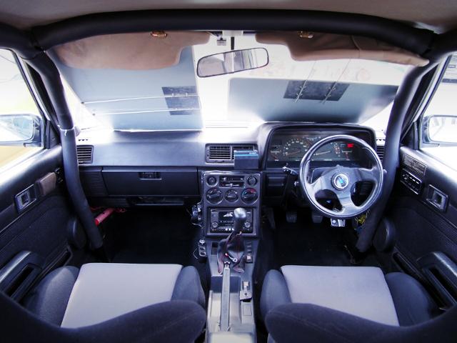 DASHBOARD OF AA63 CARINA 4-DOOR 1600 GT-R.
