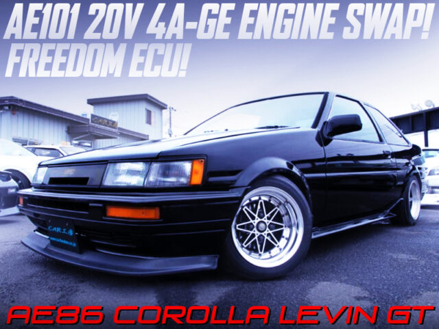 AE101 4A-GE SWAPPED AE86 LEVIN 2-DOOR GT.