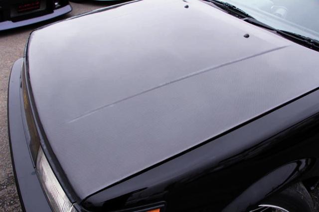 CARBON HOOD OF AE86 LEVIN 2-DOOR GT.