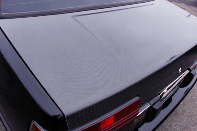 CARBON TRUNK OF AE86 LEVIN 2-DOOR GT.