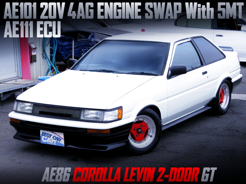 20V 4AG SWAPPED AE86 LEVIN 2-DOOR GT.