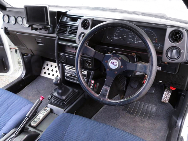 DASHBOARD OF AE86 LEVIN 2-DOOR GT.