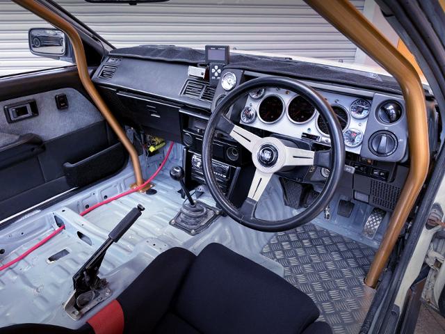 DASHBOARD OF AE86 LEVIN TURBO.